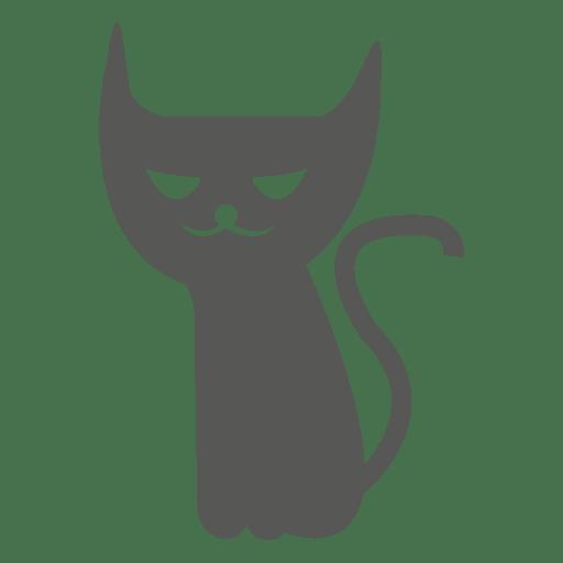 Gato espeluznante de halloween