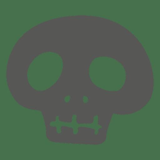 Creepy halloween skull Transparent PNG
