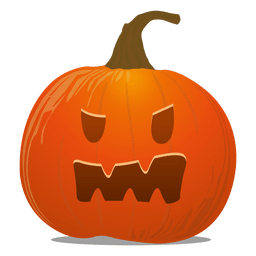 Creepy pumpkin emoticon