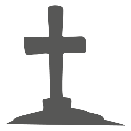 Cruzar en el cementerio Transparent PNG