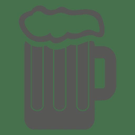 Tasse Bier trinken Symbol Transparent PNG