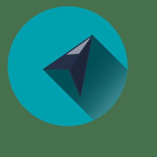 Ícone do círculo do cursor Transparent PNG
