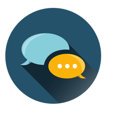 Customer care circle icon