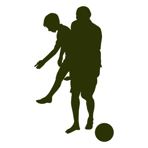 Dad Picking Son Silhouette Transparent Png Svg Vector File