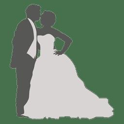 Tanzende Hochzeitspaare