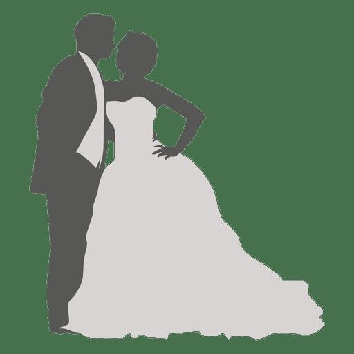 Dancing wedding couple