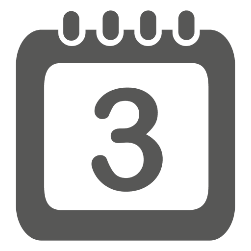 Date on calendar icon