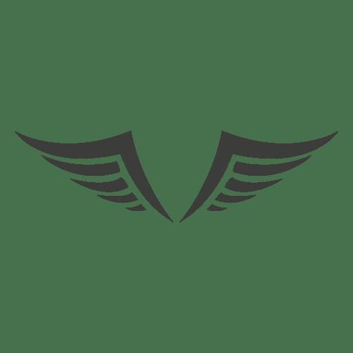 Decorative phoenix wings Transparent PNG