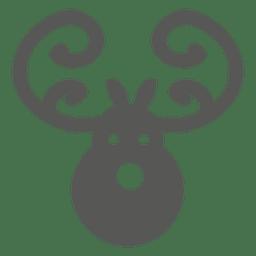 Ícone de cabeça de veado