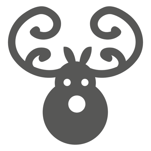 Deer head icon Transparent PNG