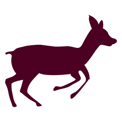 Deer running sequence 1 Transparent PNG