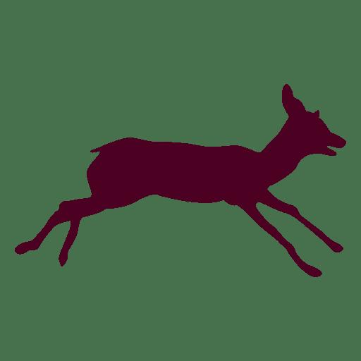 Deer running sequence 10 Transparent PNG
