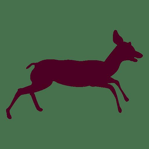 Deer running sequence 11 Transparent PNG