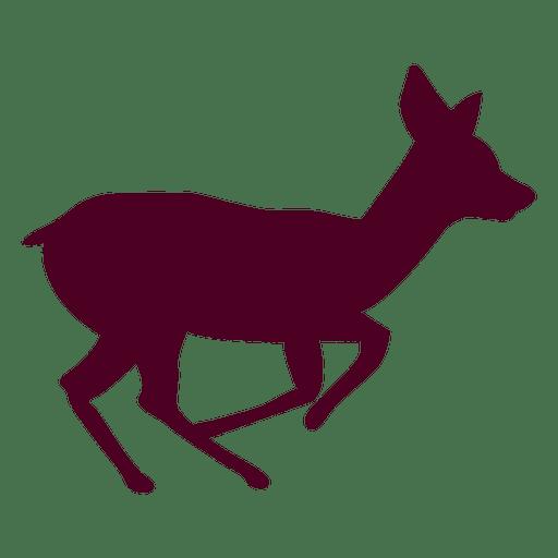 Deer running sequence 2 Transparent PNG