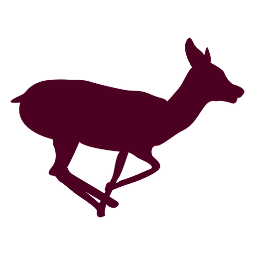 Deer running sequence 3 Transparent PNG