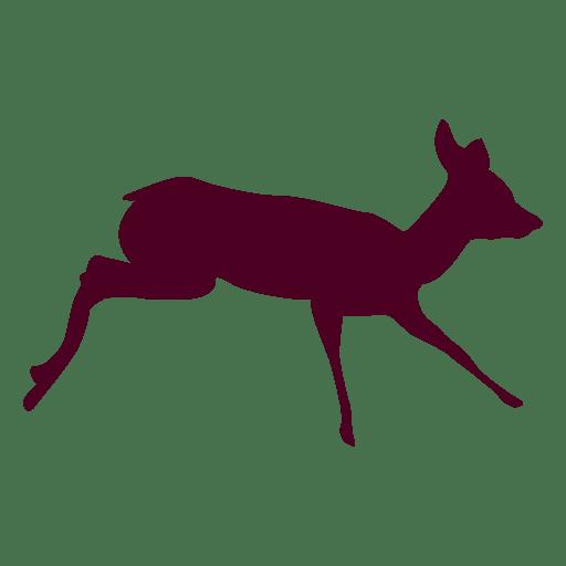 Deer running sequence 8 Transparent PNG
