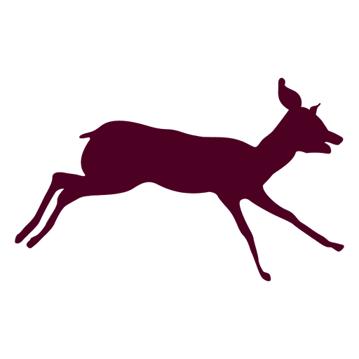 Deer running sequence 9 Transparent PNG
