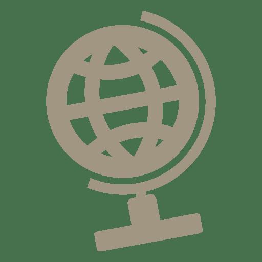 Icono de globo de escritorio Transparent PNG
