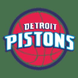 Logotipo de pistões de Detroit