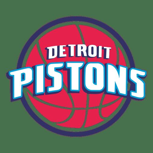 Detroit pistons logo Transparent PNG