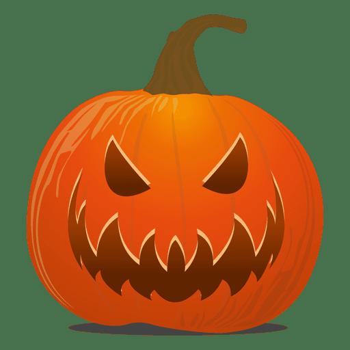 Devil pumpkin emoticon Transparent PNG