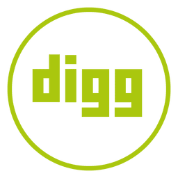 Digg ring icon
