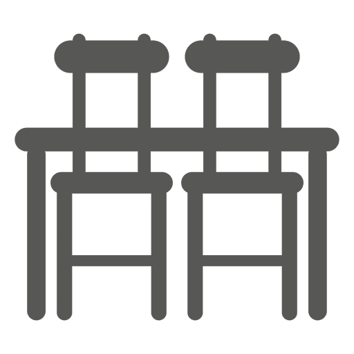 Dining set icon Transparent PNG