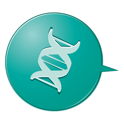 Ícone de bolha de DNA