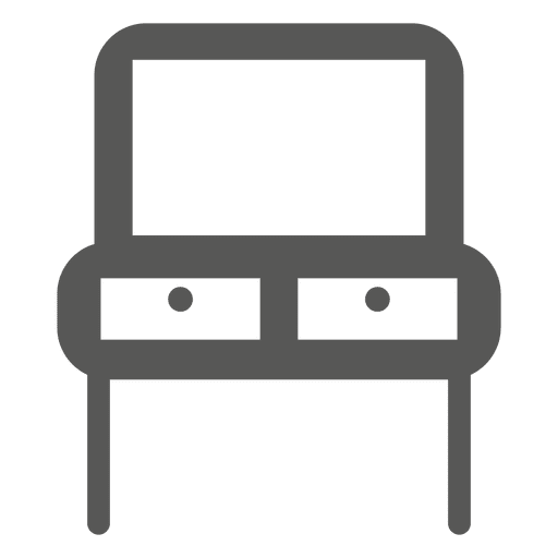 Double seat reading table Transparent PNG