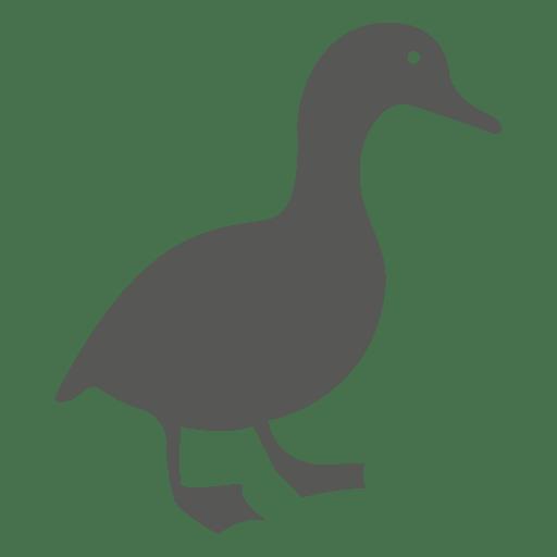 Icono plano pato