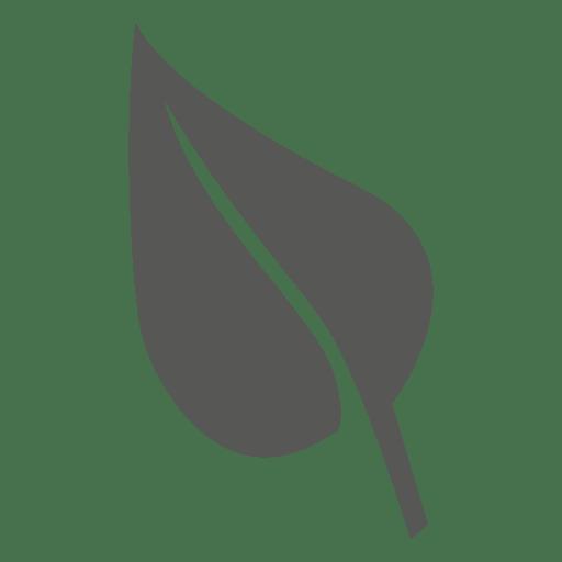 Eco leaf icon Transparent PNG