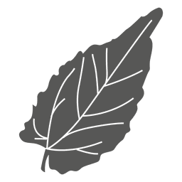 Elliptical leaf line style