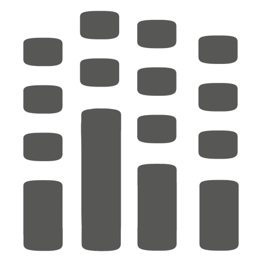 Equalizer-Zeichen Transparent PNG
