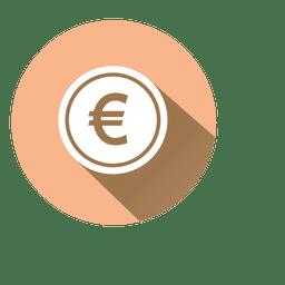 Euro circle icon 2