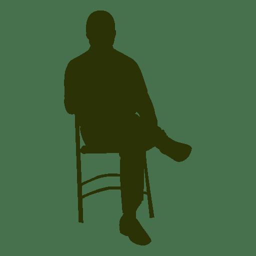 Ejecutivo Sentado En La Silla 2 Descargar Png Svg