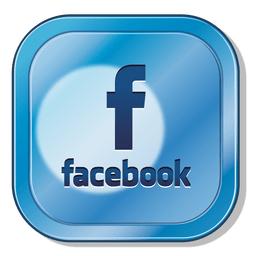 ícone quadrado Facebook