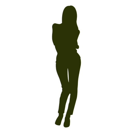 Fashion woman silhouette Transparent PNG