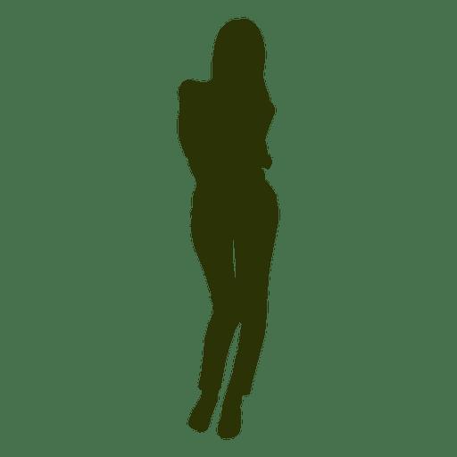 Fashion woman silhouette