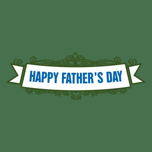 Placa del dia del padre Transparent PNG