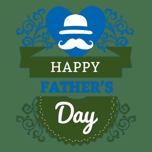 Etiqueta del día del padre Transparent PNG