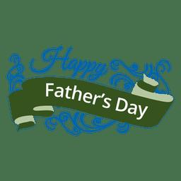 emblema fita do Dia dos Pais