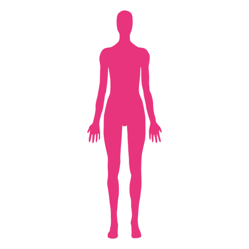 Female Body Medical Pose Transparent Png Svg Vector File