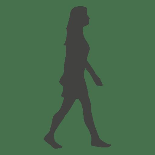 silueta caminando Mujer  Descargar PNGSVG transparente