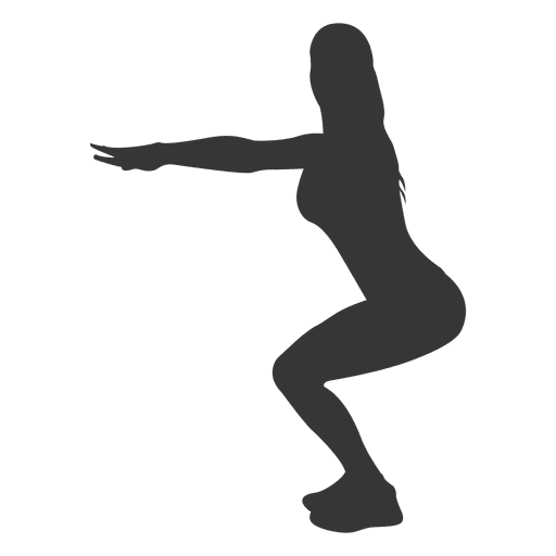 Female Yoga Practice Silhouette Transparent Png Svg Vector File