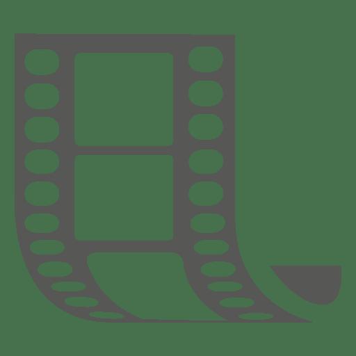 Movie strip icons