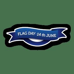 Flagge Tag Abzeichen
