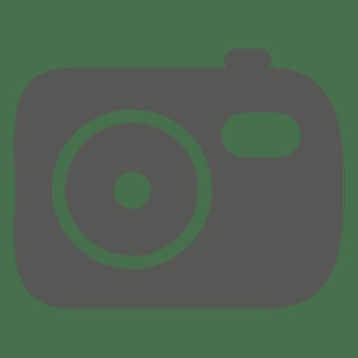 Icono de camara plana Transparent PNG