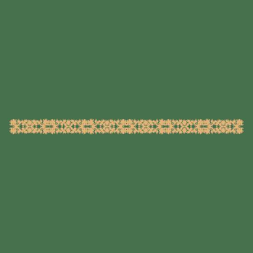 Floral border divider 1 - Transparent PNG & SVG vector