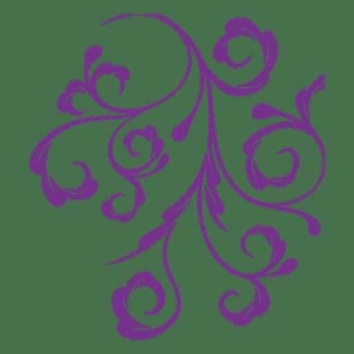 floral ornament swirls transparent png svg vector. Black Bedroom Furniture Sets. Home Design Ideas