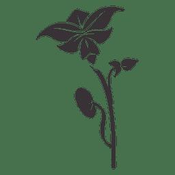 ornamento floral planta 4